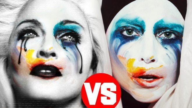 Lady Gaga la copia di Madonna.